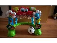 Clementoni World Cup/ Toddlers Football goal/Lights&sounds