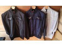Mens AJ Amarni Jeans zip jackets