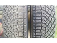 X2 4x4 Road/Off road KUMHO tyres 205/65R 15.