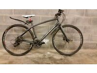 FULLY SERVICED HYBRID WHYTE STIRLING WITH HYDRAULIC BRAKES BICYCLE