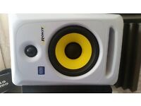 AS NEW GLOSS WHITE LIMITED EDITION 6INCH KRK's