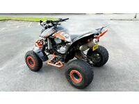 BOMBARDIER CAN AM DS650X 650CC ROAD LEGAL QUAD BIKE, 10 MONTH MOT, MAY SWAP