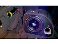 """car subwoofer system 12"""" (1500w)"""