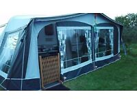 Dorema Garda 240 Awning All Season size 12 925/950 colour. Only used this season but now too small