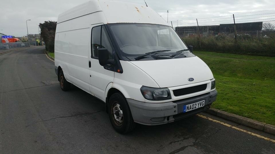 ford transit 350 lwb td 2002 model comes with new mot