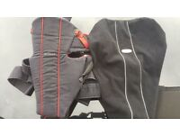 Baby Bjorn baby harness and wind proof cocoon