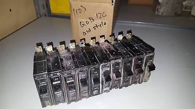 Box Of 10 Square D Qob120 Circuit Breakers Old Style  W70