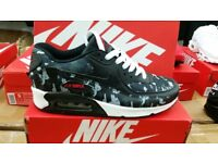 BRAND NEW NIKE AIR MAX 90's CAMO/GREY SIZES 6,7,8,9,10,11