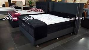 new BYRON BED-HEAD QUEEN SIZE charcoal colour, 135cm high Bundall Gold Coast City Preview