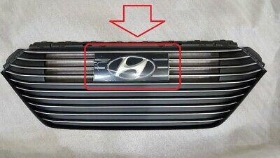 H Logo Front Grille Emblem OEM For Hyundai Accent 2012-2015