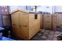 5ft x 6ft apex garden shed