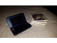 New 3DS XL, Metallic Blue, Comes with original boxing. Includes 4 Games, charger. PICK UP ONLY.
