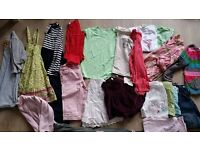 Bundle of girls clothes age 6- 7 yrs