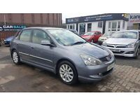 """STUNNING"" HONDA CIVIC TYPE-S 2.0 (2005) - 5 DOOR HATCH - HALF LEATHER - NEW MOT - HPI CLEAR!"