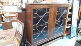 large display/bookcase cabinet