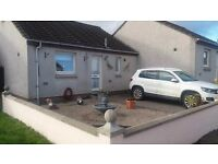 Exchange 1 bed Aboyne for 1/2