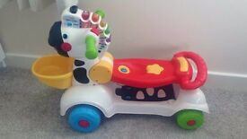 Vtech 3 in 1 scooter, ride on & walker. Immaculate condition. Open to offers. Need gone asap