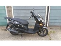 Keeway Cityblade 125cc Scooter, including topbox, warranty, 6 months old