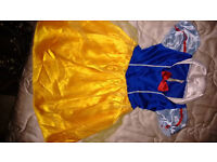Snow White dress up outfit dress 2-3 yrs girls fancy dress