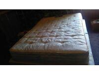 double bed mattress silentnight exc cond