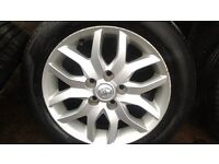 alloy wheels for toyota auris 2009