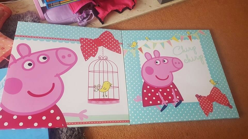 Peppa canvases