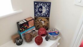 Fairy Lights, Incense Burner & Oils, Ceramics, Household Items Job Lot