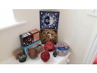 Fairy Lights, Incense Burner & Oils, Ceramics, Household Items Job Lot