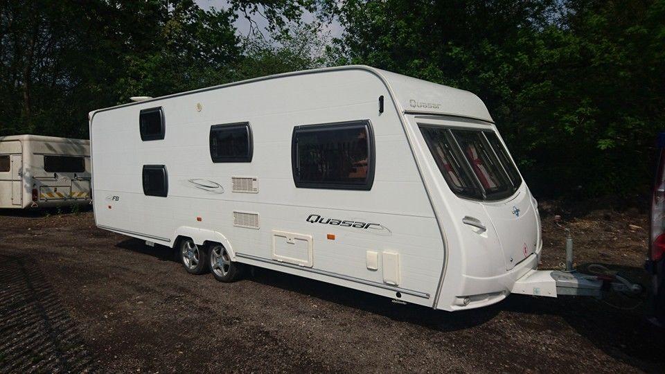 Berth Caravan With Bunk Beds