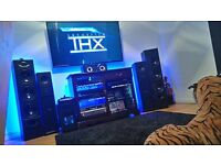 "STUNNING Wharfedale Triple 8"" Driver Floor Standing Speakers. 