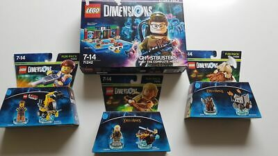 Lot Lego dimensions Ghosbusterts , lord of the rings new neuf