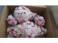 Wedding flower set.