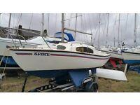 Hurley Silhouette Mk III 17ft Bilge Keel Pocket Yacht