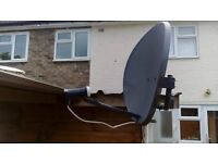 Anten satelitarna