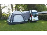 Renault Trafic campervan 2010 with hi-spec 2015 conversion and drive-away awning