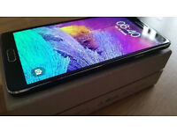 SAMSUNG NOTE 4 BLACK/GREY 32 GB UNLOCKED VERY GOOD CONDITION