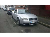 Audi a4 1.8t convertible swap sell or part ex