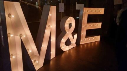 MAK Events - Giant Marquee Letter Lights Keysborough Greater Dandenong Preview