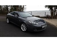 Hyundai Coupe SIII, 2007, 1975cc, Metallic Graphite Grey. MOT Oct 2017, 1 Owner from New