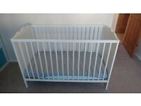 Ikea cot 60cm x 120cm in good condition