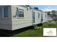 Static Caravan for Hire - PRESTATYN 3 bedroom wide caravan FULLY FURNISHED FAMILY FRIENDLY