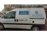 G & R AERIALS FOR ALL YOUR SATELLITE AND DIGITAL INSTALLS AND REPAIRS