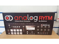 ELEKTRON ANALOG RYTM DRUM MACHINE BRAND NEW SEALED WITH RECEIPT