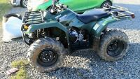 Month old four wheeler