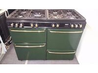 green stoves newhome 110cm duel fuel range cooker