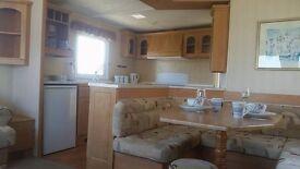 Double glazed static caravan for sale on Norfolk coast near Great Yarmouth