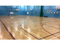 Sports halls, studios and fitness suites available to hire across Nottingham