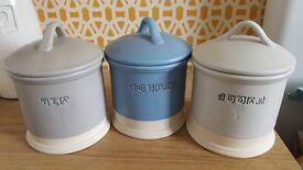 Next tea coffee sugar jars