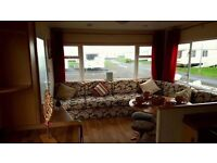 Pet Friendly, 3 Bedroom Caravan for Rent, sleeps 8 at Sandylands Caravan Park, deposit £50