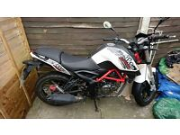 KSR GRS125 motorbike